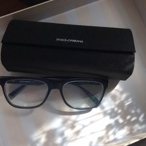 Dolce & Gabbana Optical Frames Matte Blue